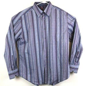 Robert Graham Mens Shirt Button Front Size XL